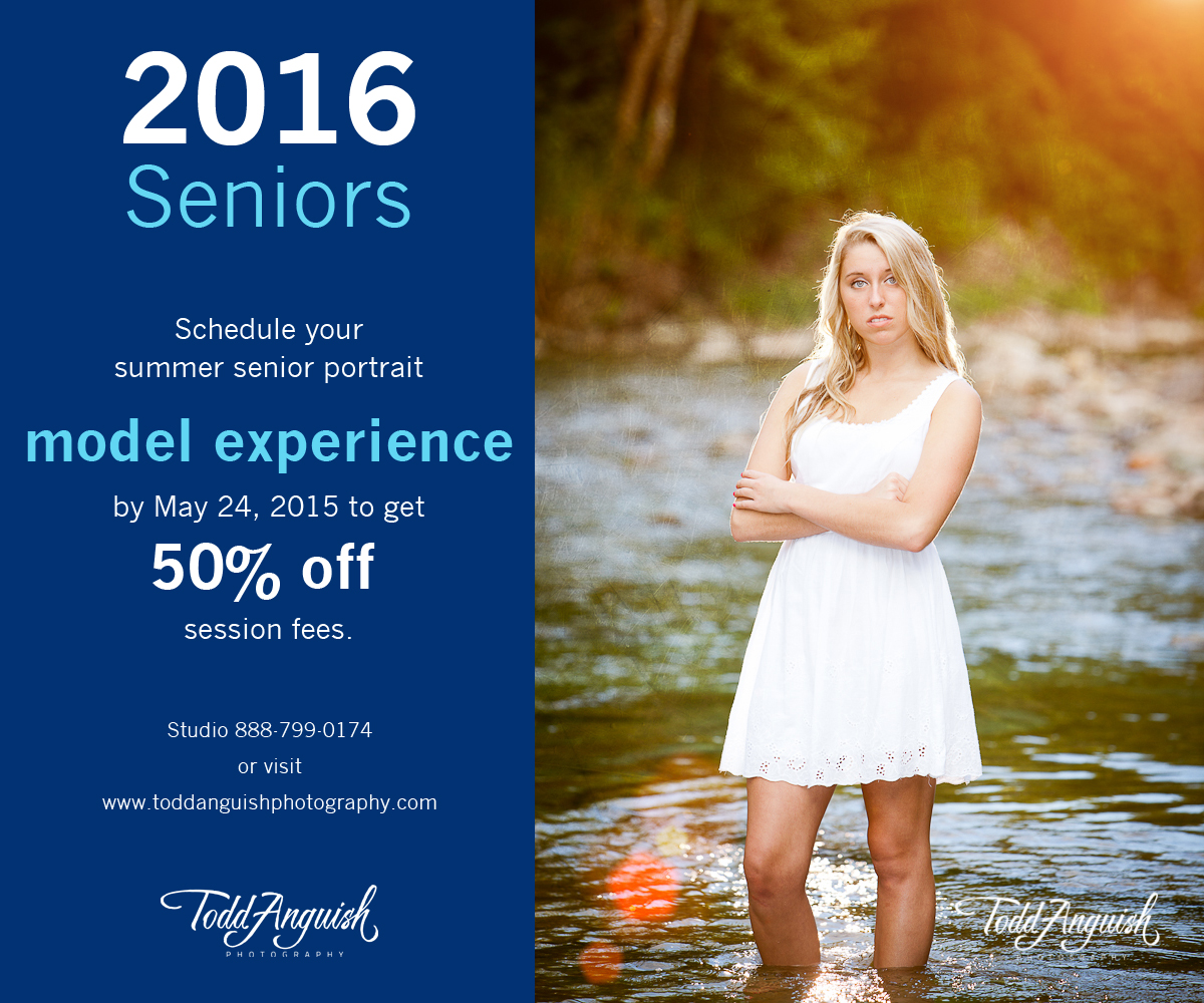 2016 Senior Portraits Modeling Experience - Todd Anguish Photography: www.toddanguishphotography.com/2016-senior-portraits-modeling...